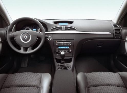 Wnętrze Renault Laguna II