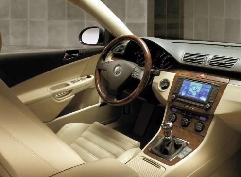 VW Passat B6 Wnętrze