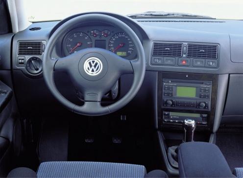 Volkswagen Golf IV Wnętrze