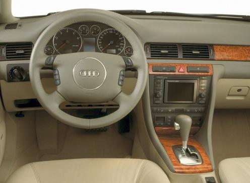 Audi A6 Wnętrze
