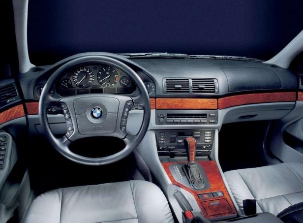 BMW 5 E39 Wnętrze