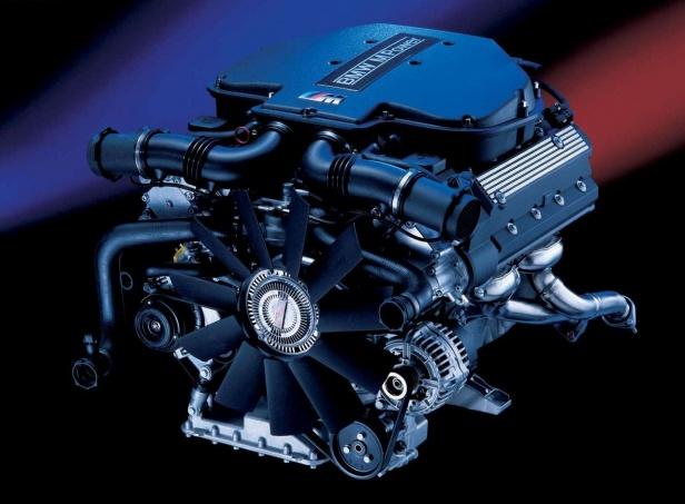 BMW M5 E39 Silnik