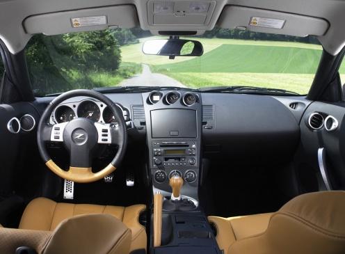 Nissan 350Z Wnętrze