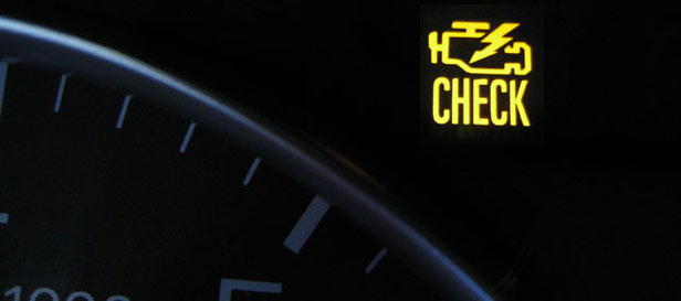 Kontrolka trybu serwisowego - Check Engine