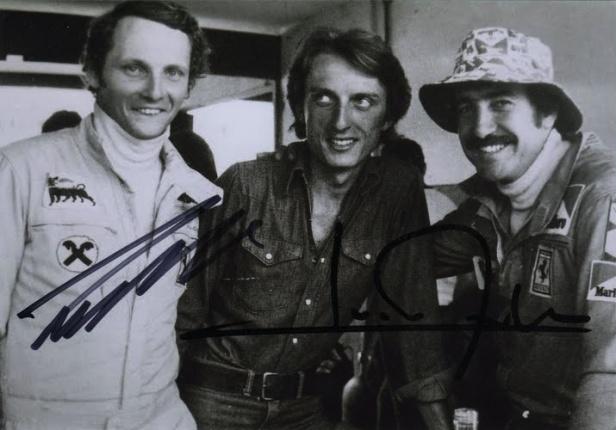 Lauda Montezemolo Regazzoni