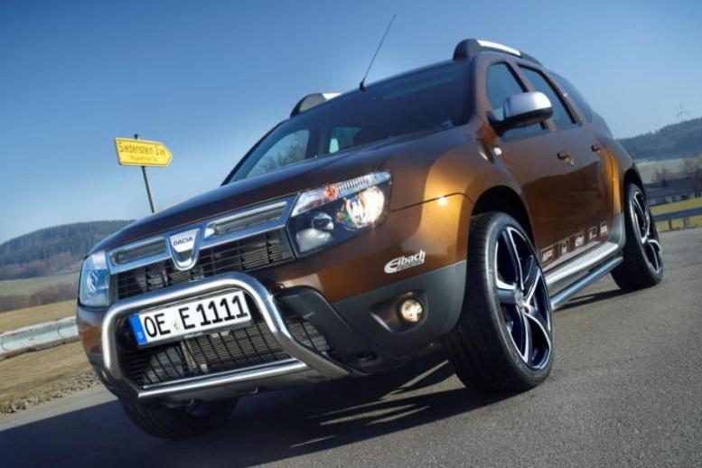 Eibach и Giacuzzo Design прокачали Dacia…