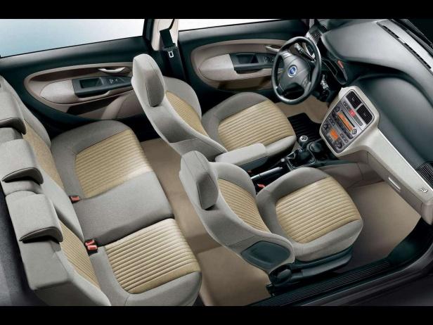Fiat Grande Punto Wnętrze