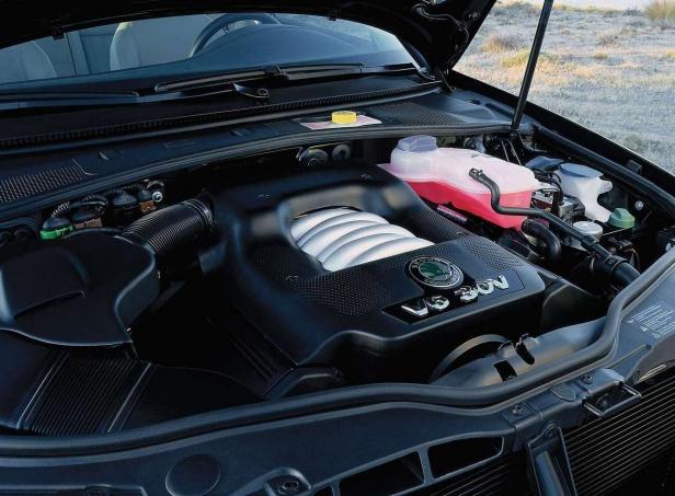 Skoda Superb Silnik 2.8 V6