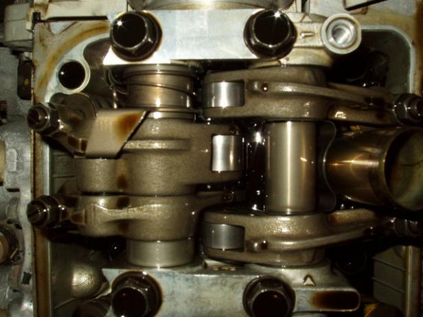 Widok układu zmiennych faz rozrządu VTEC-E
