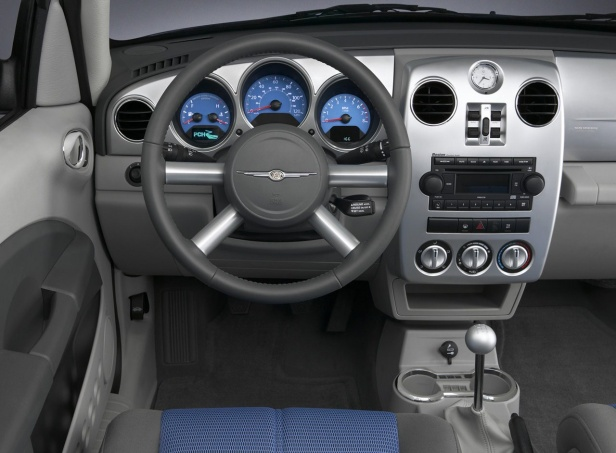Chrysler PT Cruiser Wnętrze po faceliftingu