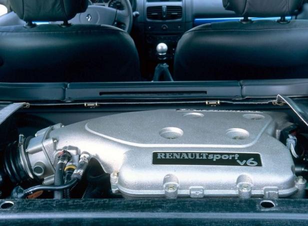 Renault Clio II V6 Silnik 3.0