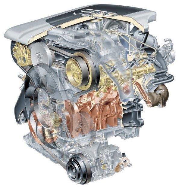 Silnik V6 2,5 TDI
