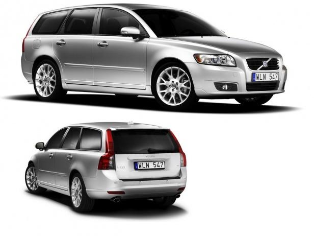 Volvo V50 po faceliftingu
