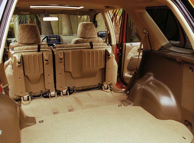Honda CR-V Bagażnik