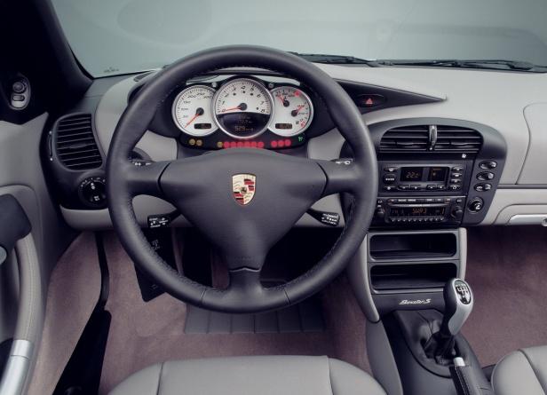 Porsche Boxster 986 Wnętrze