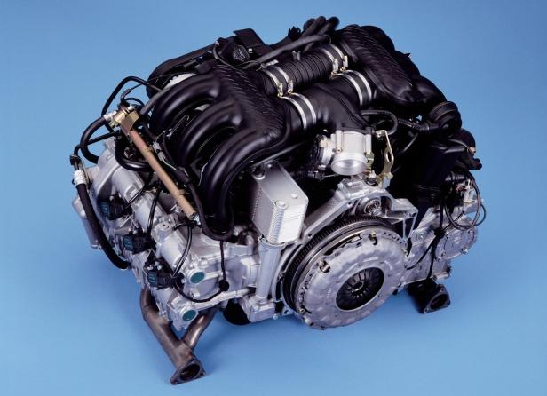 Porsche Boxster S Silnik 3,2