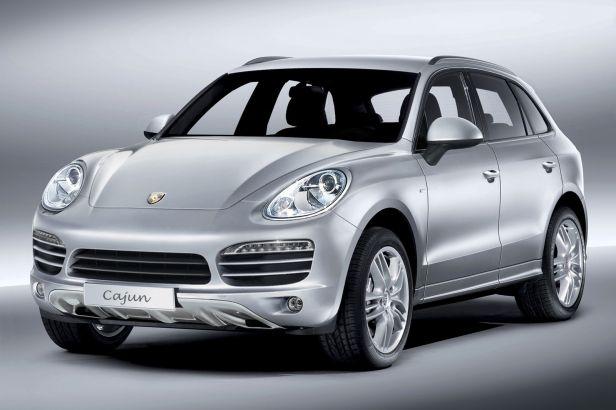 Porsche Cajun wizualizacja