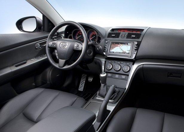 Mazda 6 Wnętrze