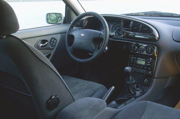 Ford Mondeo mk2 Wnętrze
