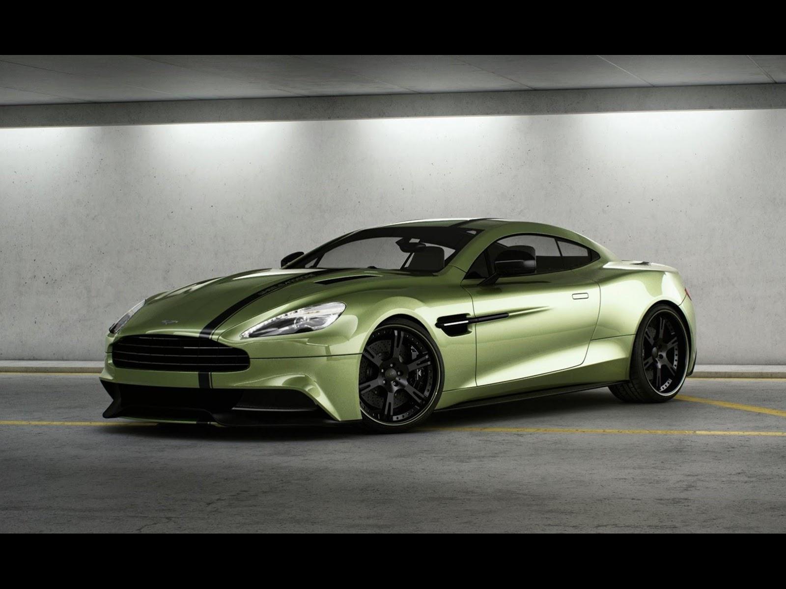 CAR NEWS LUX Przypakowany James Bond – Wheelsandmore Vanquish Stage