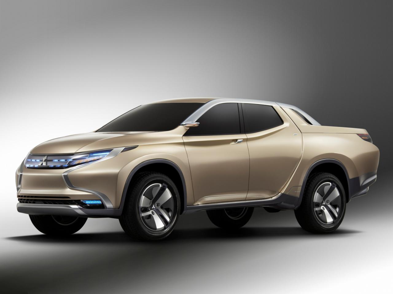 Mitsubishi Concept GR-HEV Sport Utility Hybrid Truck – tak brzmi