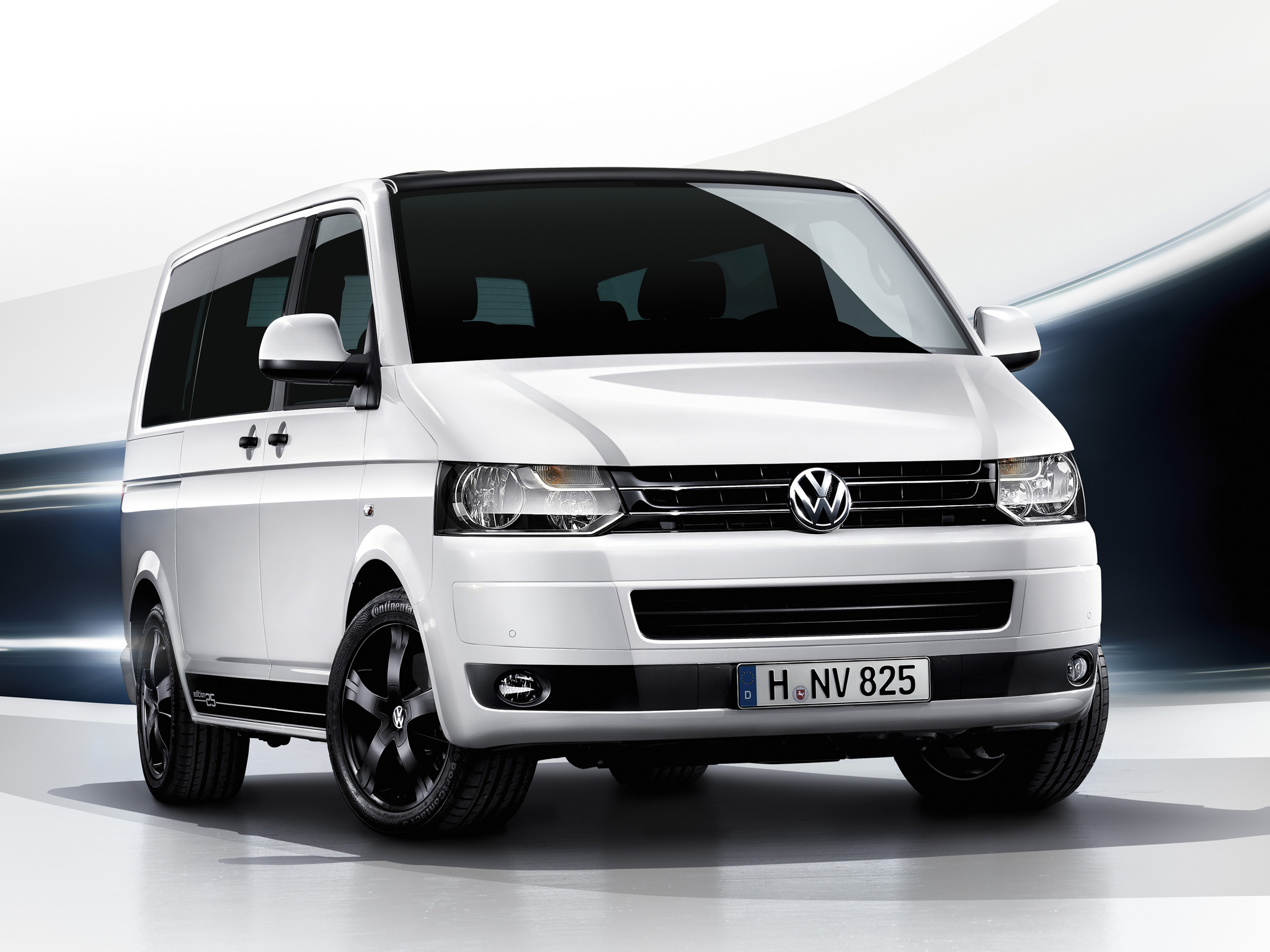 Vw Multivan 20 Tdi Edition 25 T5 Facelift – Frontansicht Picture