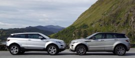 Range Rover Grand Evoque w przygotowaniu