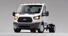 Ford Transit – podwozie z kabiną dla USA