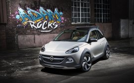 Opel ADAM ROCKS Concept - Opel Adam Rocks  may crossover z otwieranym dachem [aktualizacja]
