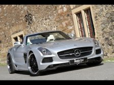 Prawie jak Black Series – Inden Mercedes-Benz SLS AMG Roadster Borrasca (2013)