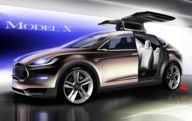 6581351521927378706 - Skrzydlata Tesla Model X oficjalnie zaprezentowana!