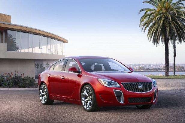 2014 Buick Regal - 2014 Buick Regal - zapowied liftingu Insignii
