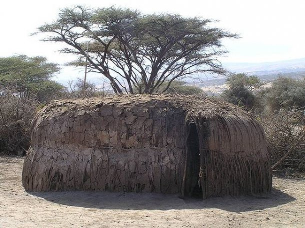 Manyatta - dom Masajów