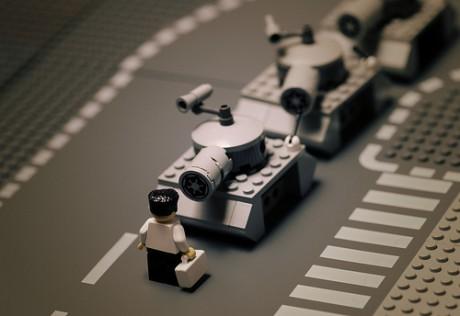 Słynne zdjęcia wwydaniu klocków Lego