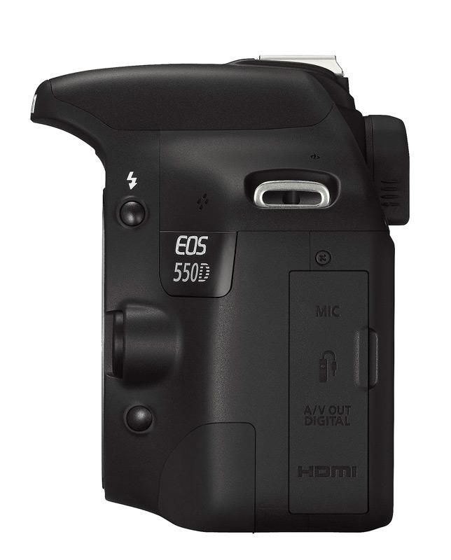 Canon Eos 550d Zgrabna Lustrzanka Z 18 Megapikselami I