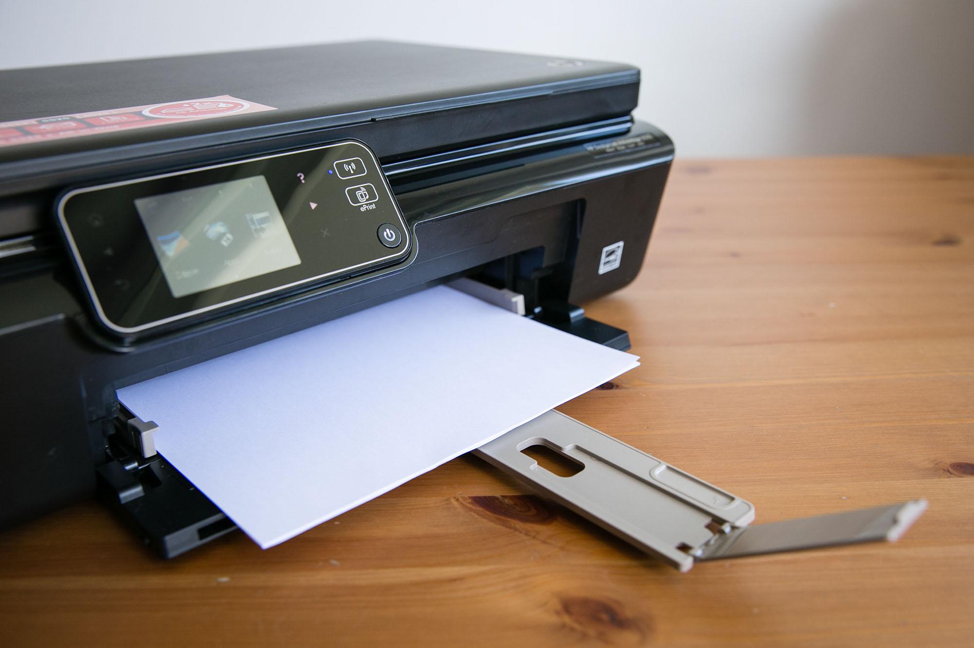 Wyjątkowy HP Deskjet Ink Advantage 5525 e All in e – test drukarki