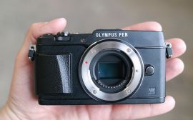 Olympus PEN E-P5  pierwsze wraenia