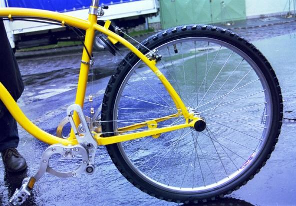 rower bez łańcucha