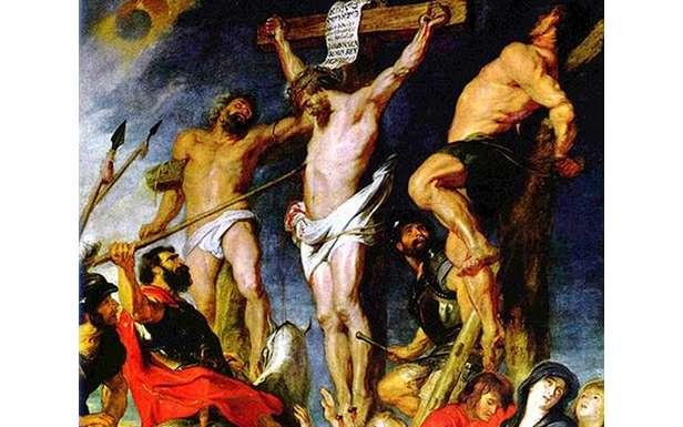 """""""Ukrzyżowanie"""" - obraz Petera Paula Rubensa"""