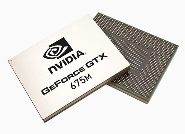 Nvidia GeForce GTX 675M - topowy układ graficzny zserii 600 (fot. Nvidia)