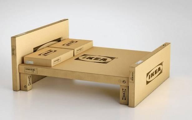 Aparat niewiele różni się odpudełek, wktórych IKEA sprzedaje swoje meble (Fot. Inhabitat.com)