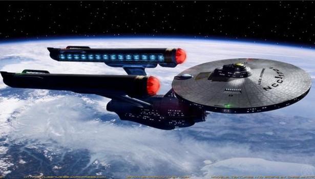 Czy wciągu 20 lat zbudujemy Enterprise? (fot.: BTE / Chris Martin of Evil Starship Factory)