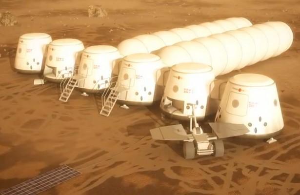 Kolonizacja Marsa: kosmiczne miasto już w2023r. (fot.: Mars One)