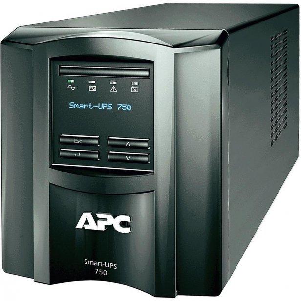 APC Smart-UPS 750 zwygodnym panelem sterowania