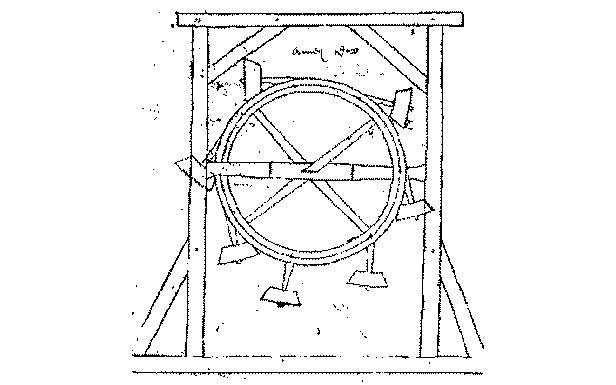 Szkic urządzenia Villarda de Honnecourta