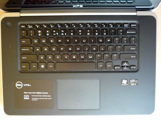 Dell XPS 15 L521x - klawiatura itouchpad