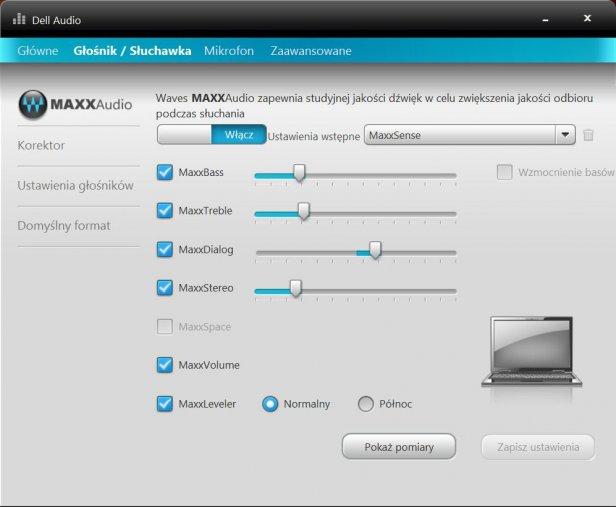 Waves MaxxAudio niewiele pomoże, gdy membrany kiepskie...