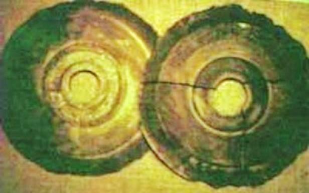 Tak wyglądają dyski Dropa - oile wogóle istnieją