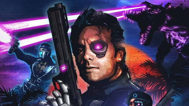 fbd - Far Cry 3: Blood Dragon. Cyberrekiny i laserowe dinozaury?