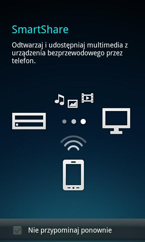 LG Swift 2X - DLNA (SmartShare)